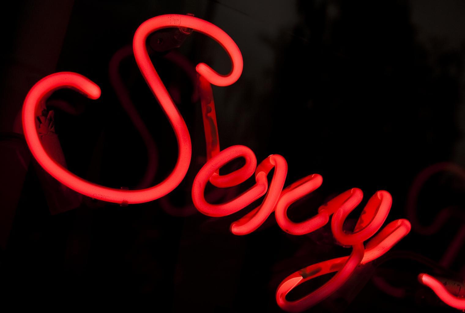 nápis sexy